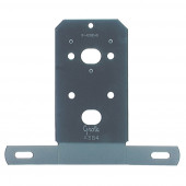 Universal License Plate Bracket, Black Enamel thumbnail