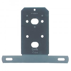 Universal License Plate Bracket, Black Enamel