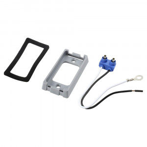 Bracket For Small Rectangular Lights, Gray Kit