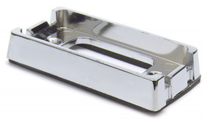 Bracket For Small Rectangular Lights, Chrome Plated Kit