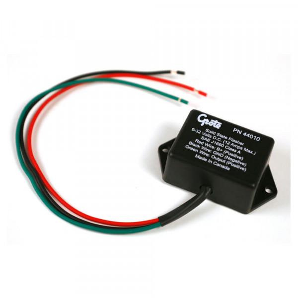 Fester elektronischer Blinker, 3-Kabel