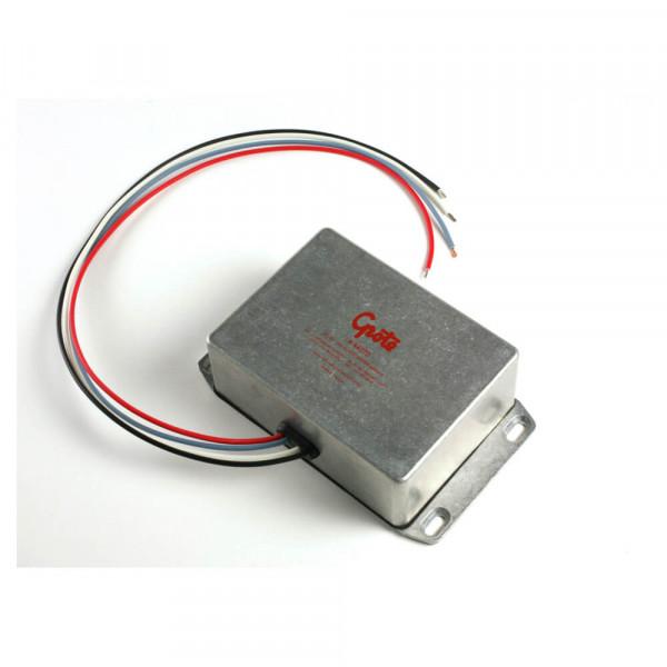 Conversor de 24 a 12 voltios, gris