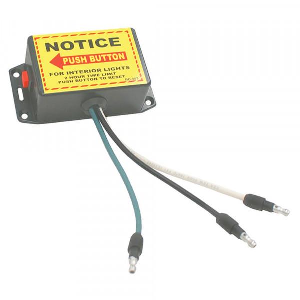 Interruptor económico con características completas y temporizador, Interruptor, gris