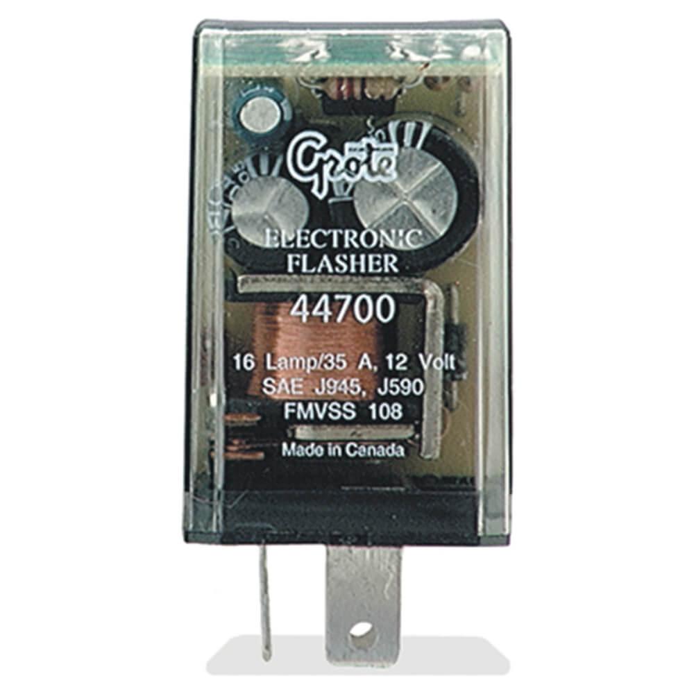 Destellador de 3 clavijas, Electrónico de 16 luces (piloto)
