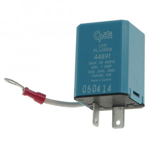 2 Pin Flasher, Variable-Load Electronic LED