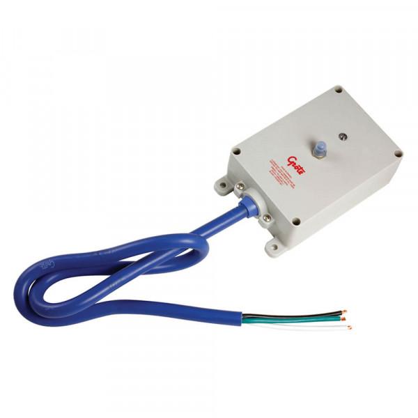 Interruptor electrónico para luz de interior, Características completas, Montaje en superficie, gris
