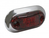 "2 1/2"" Oval LED Clearance Marker Lights thumbnail"