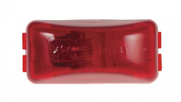 3 clearance marker light 24 volt red