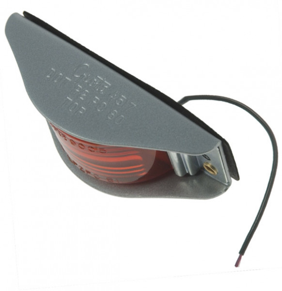 narrow rail clearance marker light red