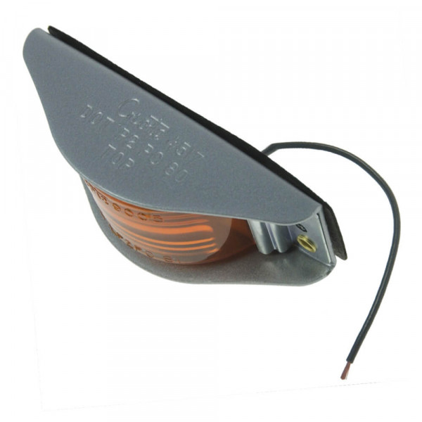 narrow rail clearance marker light red amber
