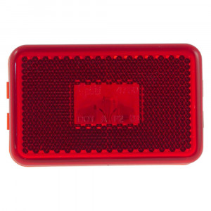 clearance marker light reflector red