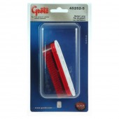 thin line single bulb clearance marker light red retail