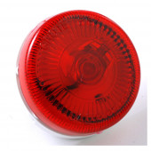 2 1/2 sureface mount single bulk clearance marker light red thumbnail