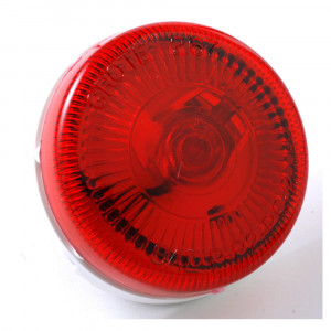 2 1/2 sureface mount single bulk clearance marker light red