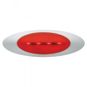 m1 series led clearance marker light molded bullet bezel red bulk