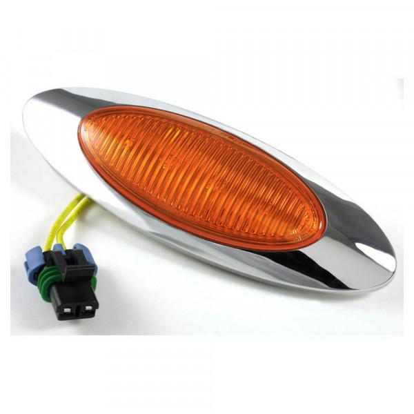 m1 series led clearance marker light bulk metripack plug bezel