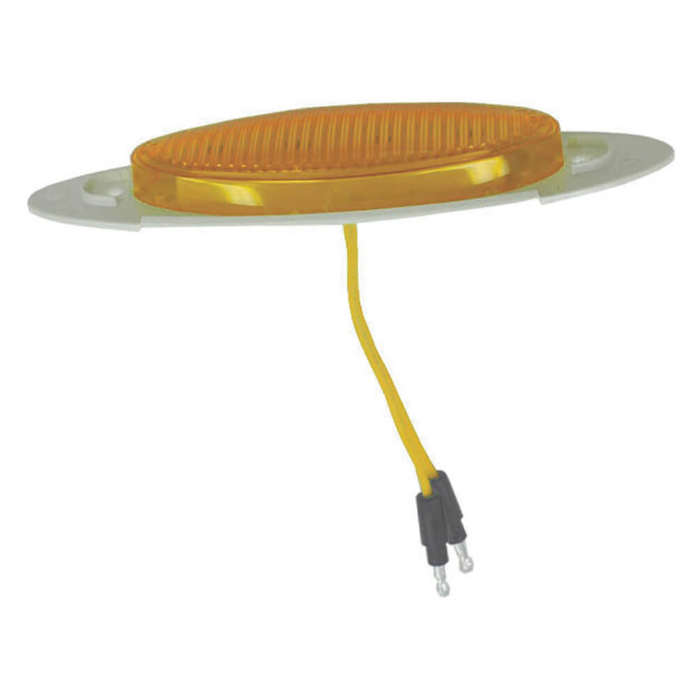 m1 series led clearance marker light yellow bolded bullet