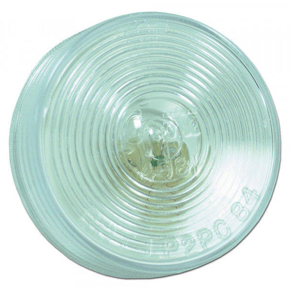 round utility light clear