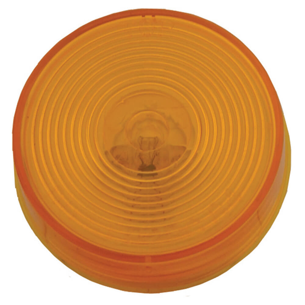 2 1/2 clearance marker light optic yellow