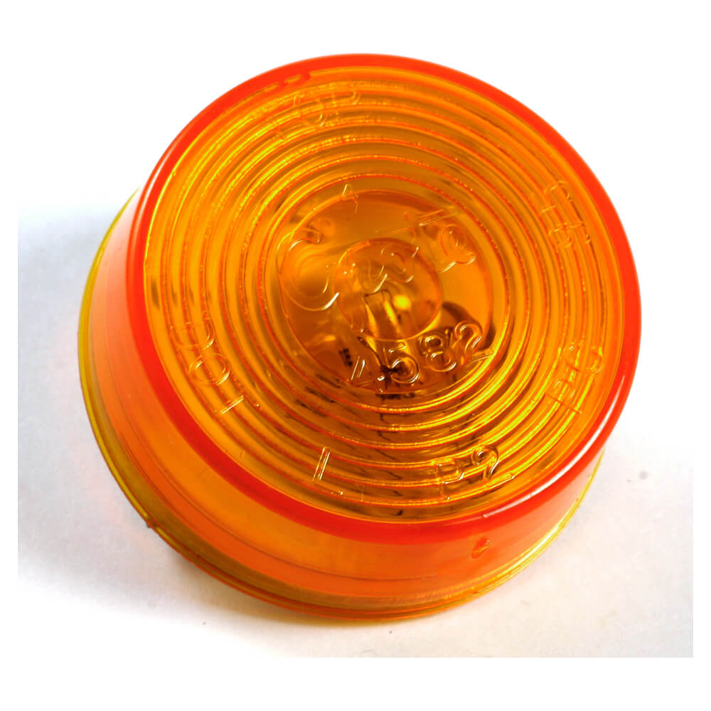 2 clearance marker light yellow