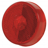clearance marker light reclector red