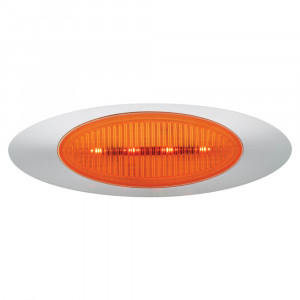 mr series led clearance marker light molded bezel