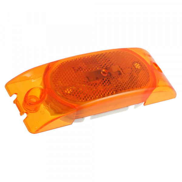 Two bulb clearance marker light with built in reflector