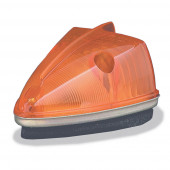 school bus wedge marker light yellow