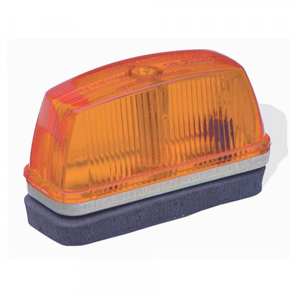 school bus rectangular marker light amber