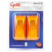 3 clearance marker light pair yellow
