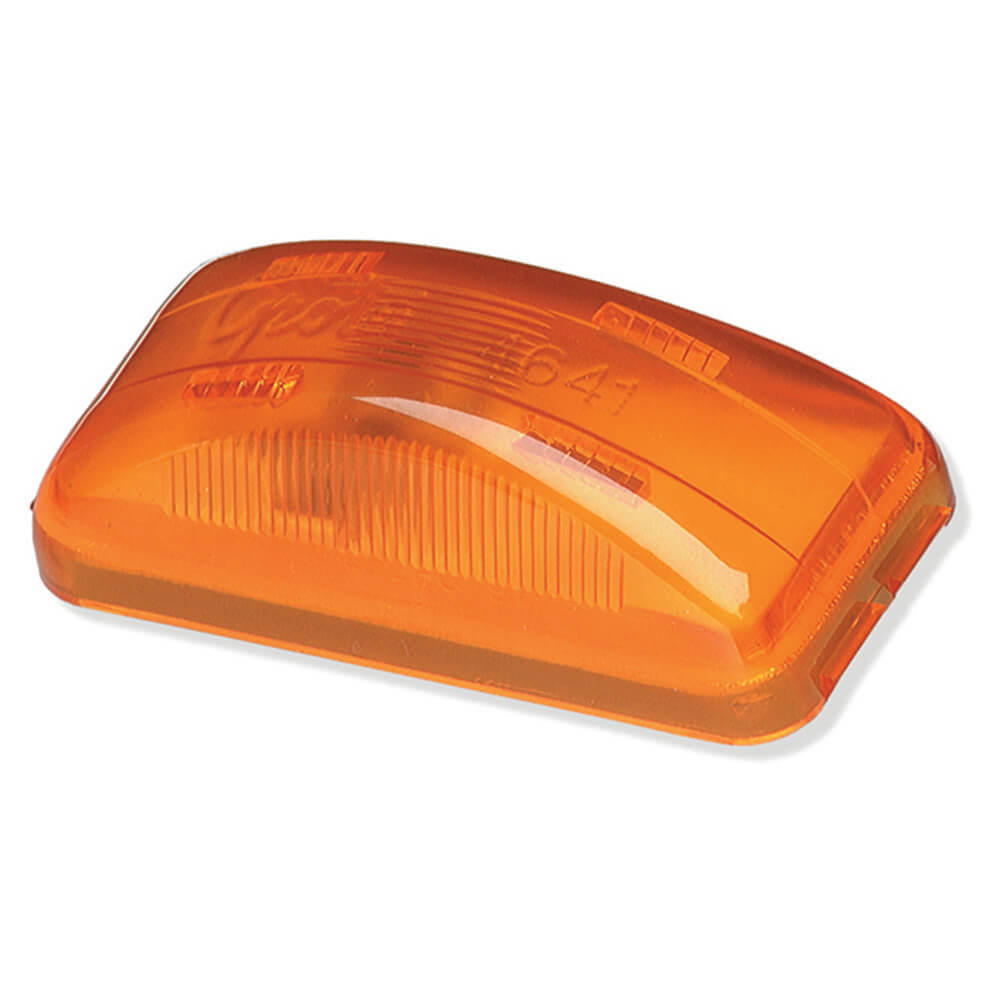 3 clearance marker light yellow