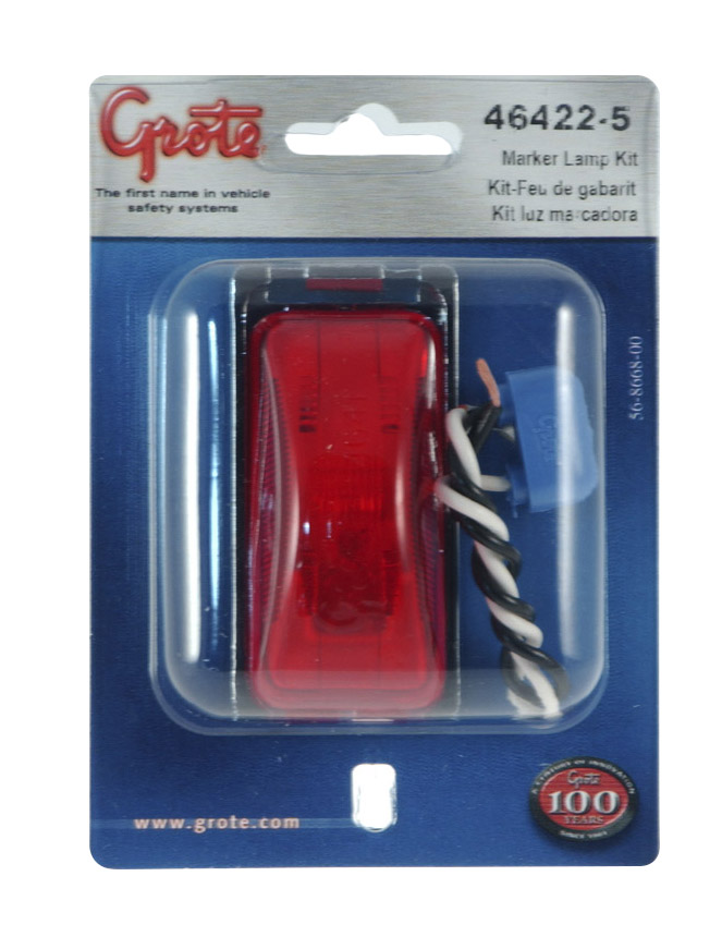 3 clearance marker light red