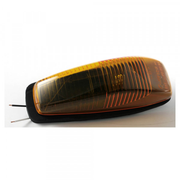 small aerodynamic cab marker light yellow