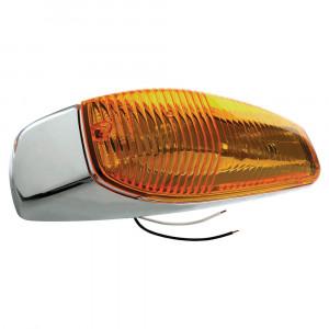oem style large aerodynamic cab marker light yellow
