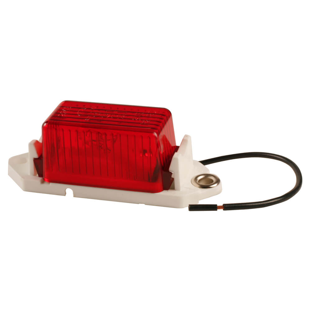 economy clearance marker light red