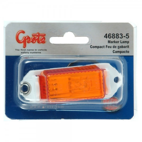economy clearance marker light amber retail
