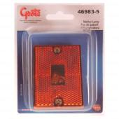 rectangular submersible clearance marker light reflector retail amber