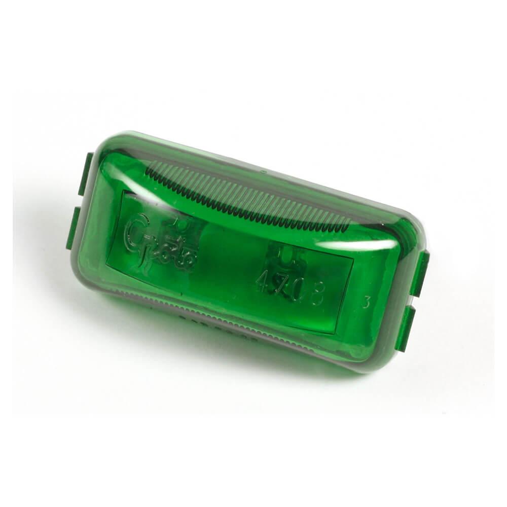 Green LED Clearance Marker Light