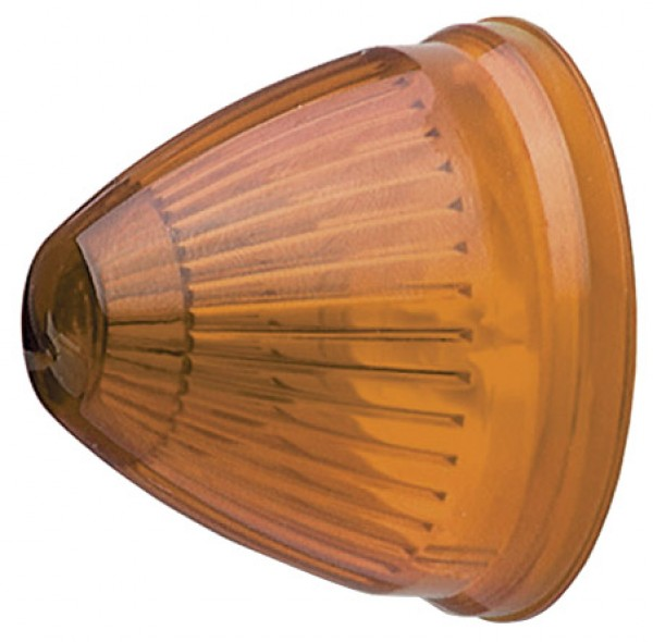 yellow 2 beehive clearance marker light