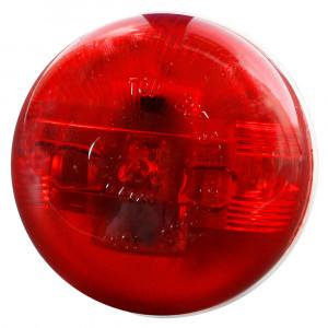 Supernova Halbe 2 LED-Markierungsleuchte, Rot
