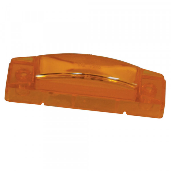 supernova thin line led clearance marker light yellow