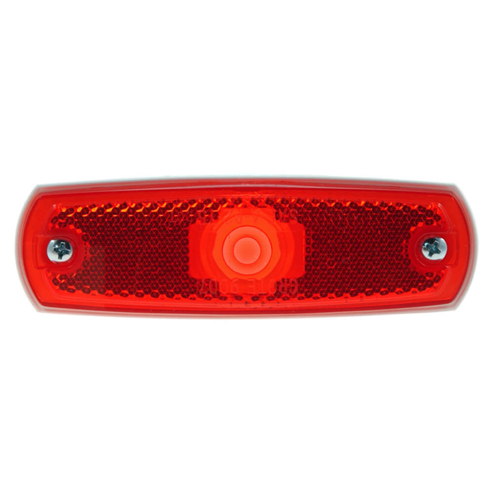 supernova low profile led clearance marker light red