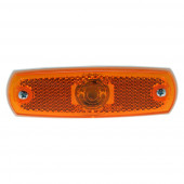 supernova low profile led clearance marker light yellow