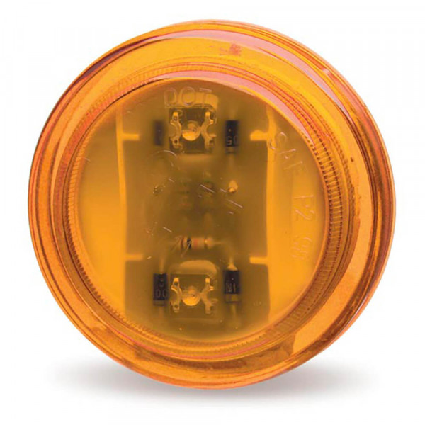 Amber 24 Volt LED Clearance Marker Light.