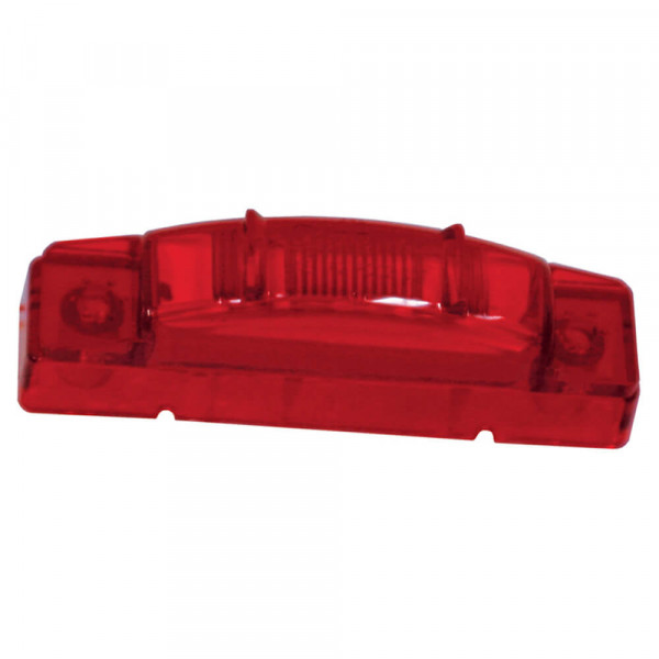 supernova thin line led clearance marker light pc red