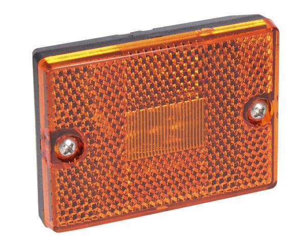 Yellow LED Side Marker Light