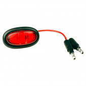 Red LED Clearance Marker Light With Grommet.