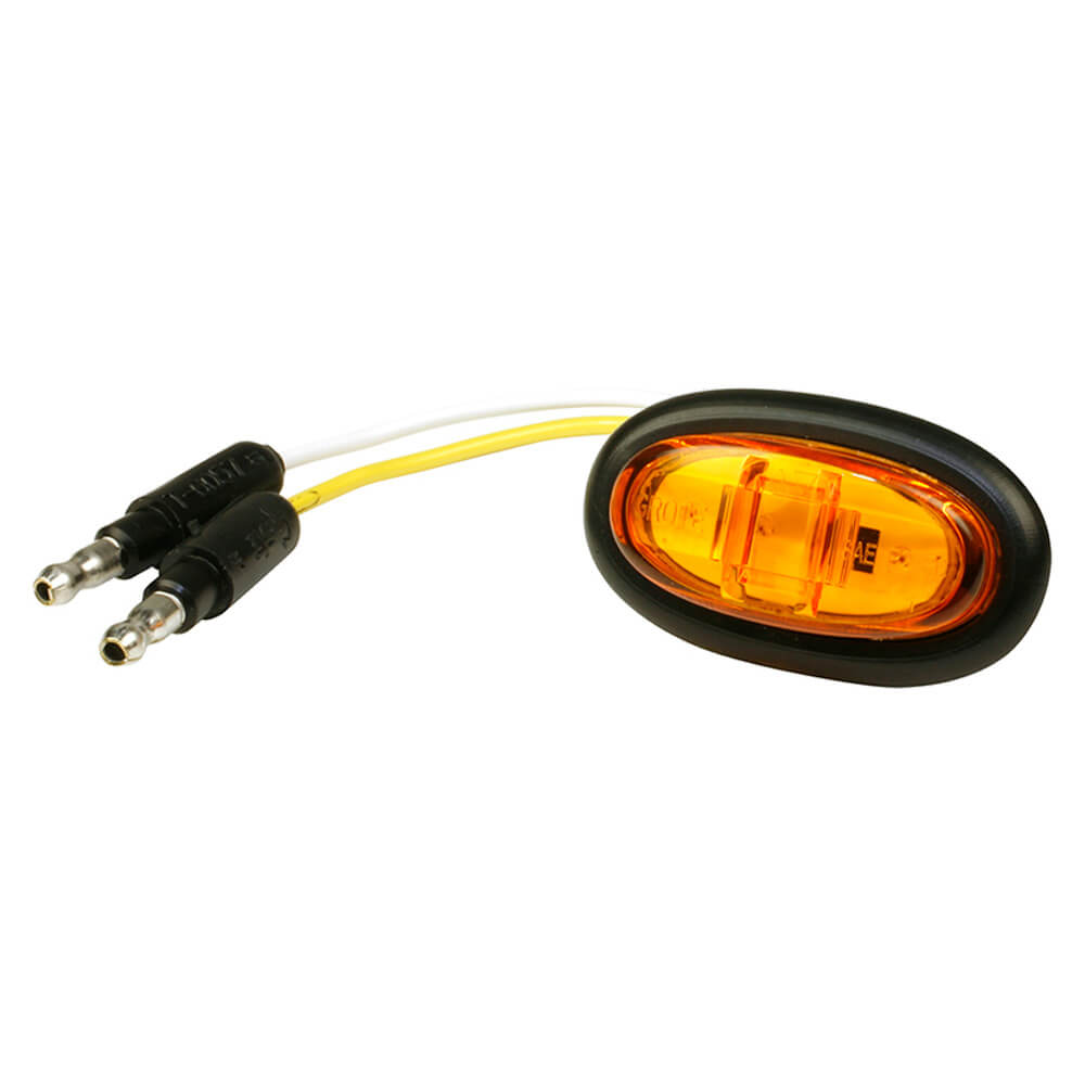 Yellow LED Clearance Marker Light With Grommet.