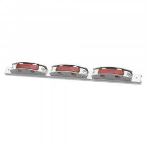 supernova thin line led bar light red