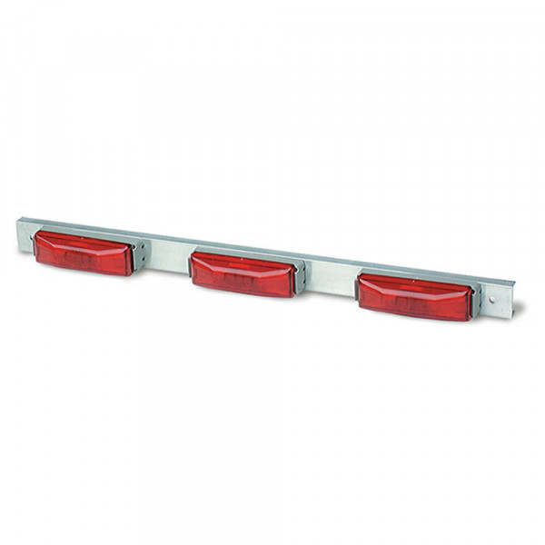 aluminum bar light thin line red
